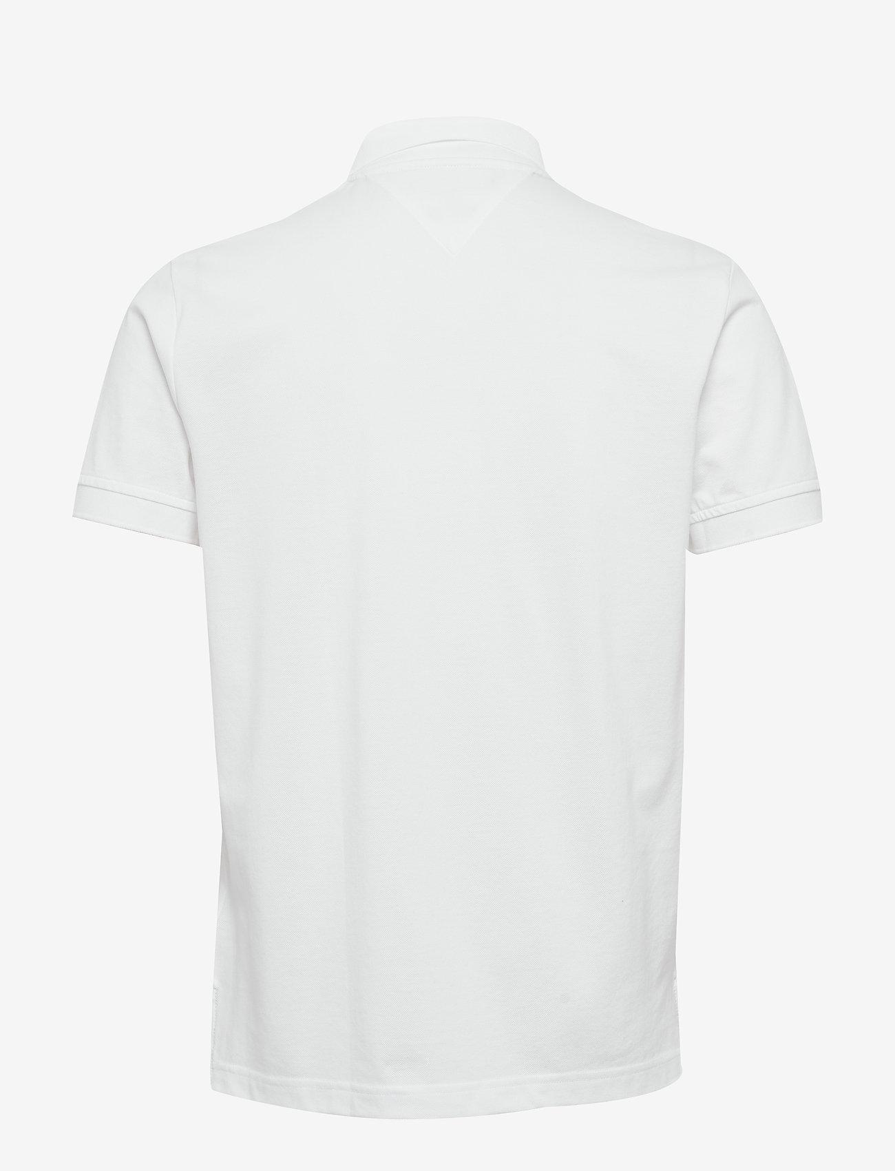 Tommy Hilfiger - HILFIGER ARTWORK REG - short-sleeved polos - white - 1