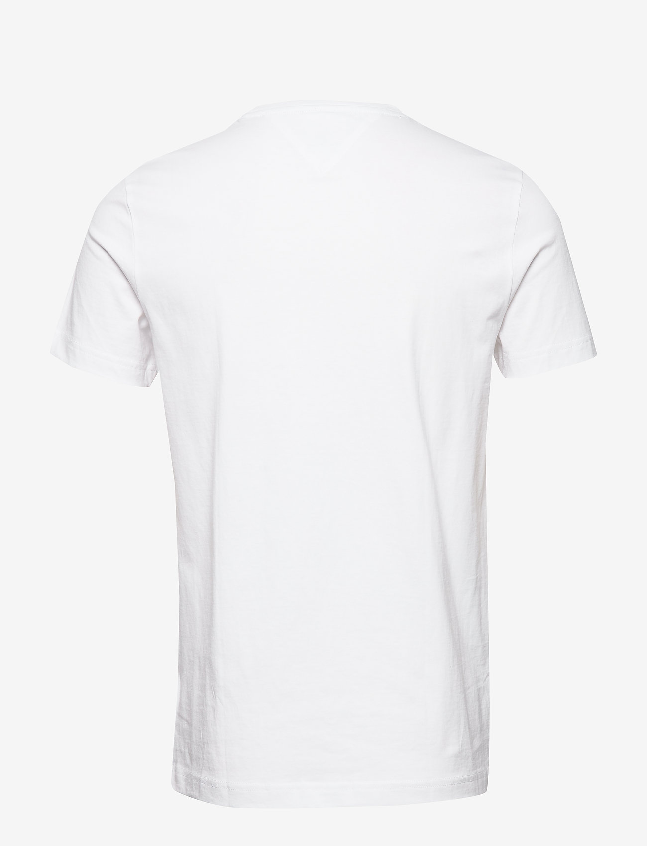 Tommy Hilfiger - CORP HILFIGER TEE - short-sleeved t-shirts - white
