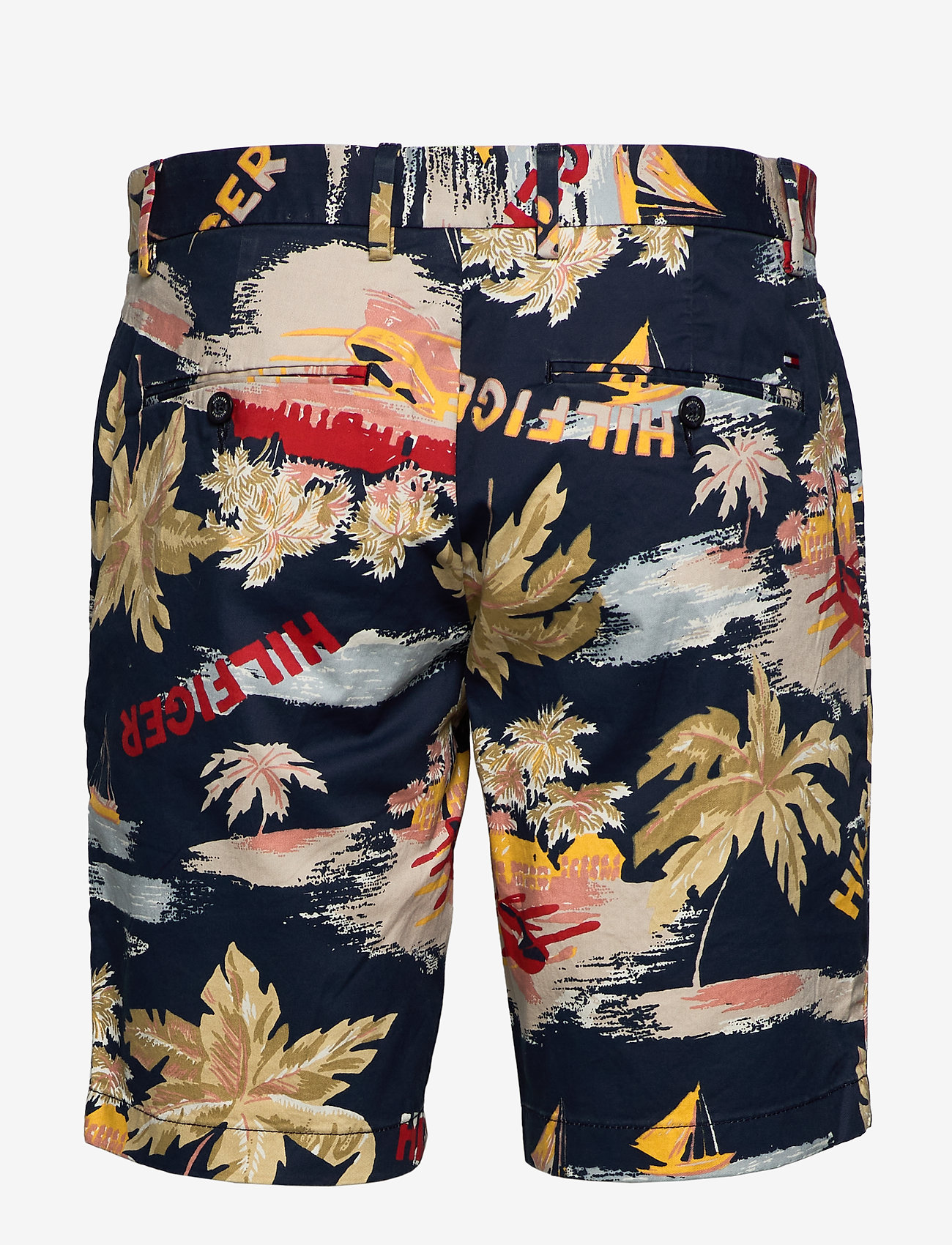 Tommy Hilfiger - BROOKLYN SHORT HAWAI - chinos shorts - desert sky - 1
