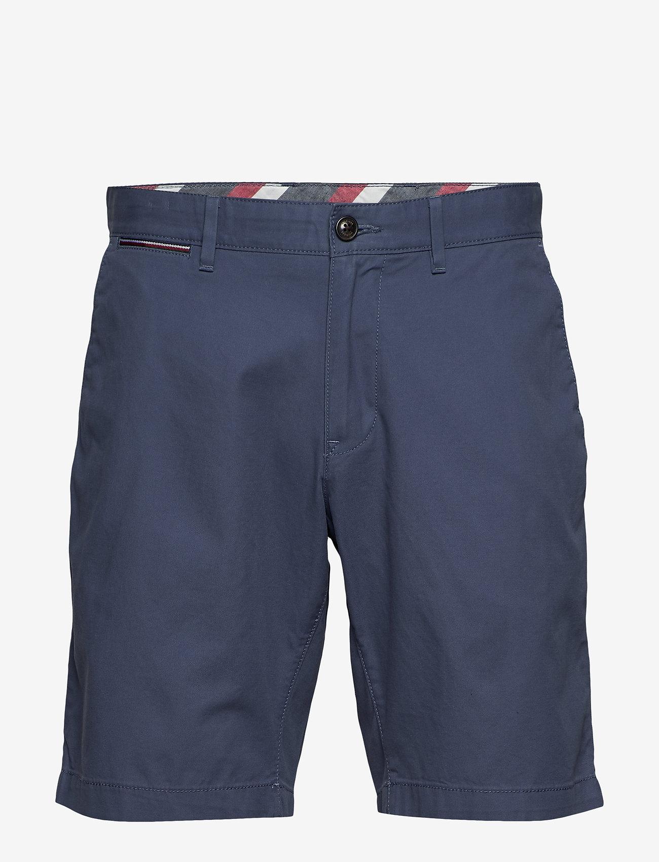 Tommy Hilfiger - BROOKLYN SHORT LIGHT TWILL - chinos shorts - faded indigo
