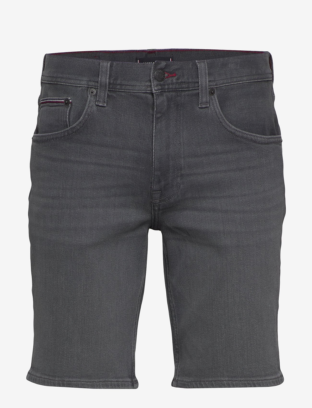 Tommy Hilfiger - BROOKLYN 5PKT SHORT - farkkushortsit - ames grey - 0