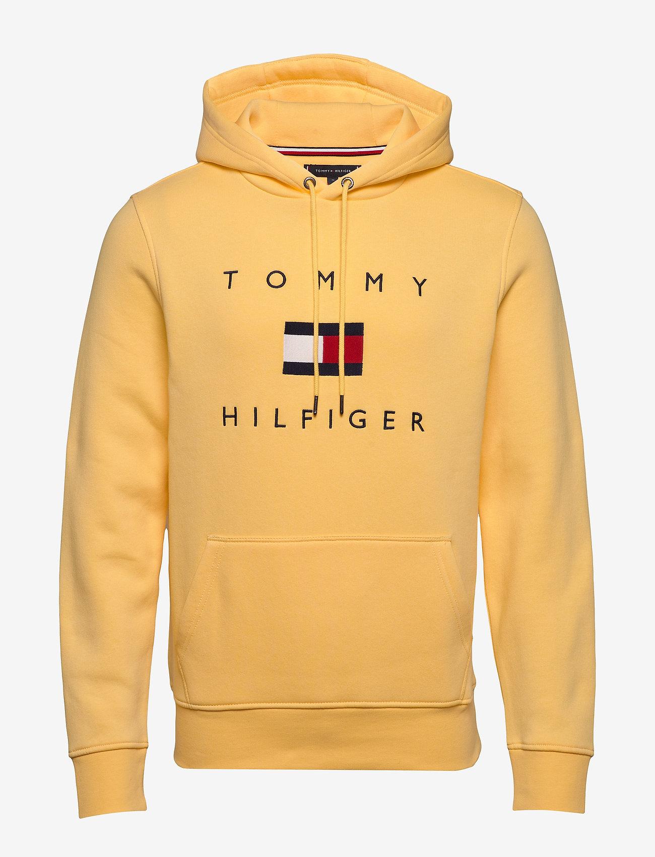 Tommy Hilfiger - TOMMY FLAG HILFIGER HOODY - hoodies - sun ray - 0