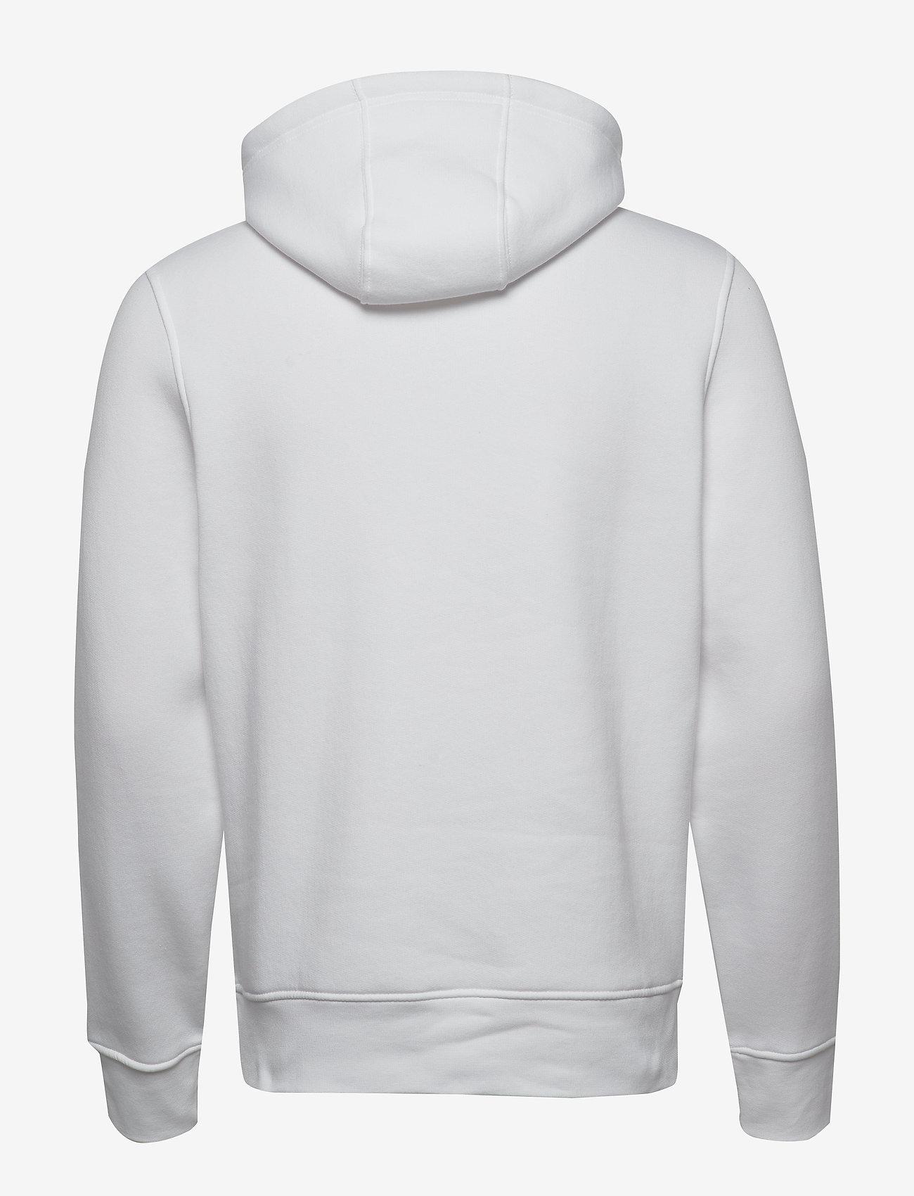 Tommy Hilfiger - TOMMY FLAG HILFIGER HOODY - hoodies - white - 1