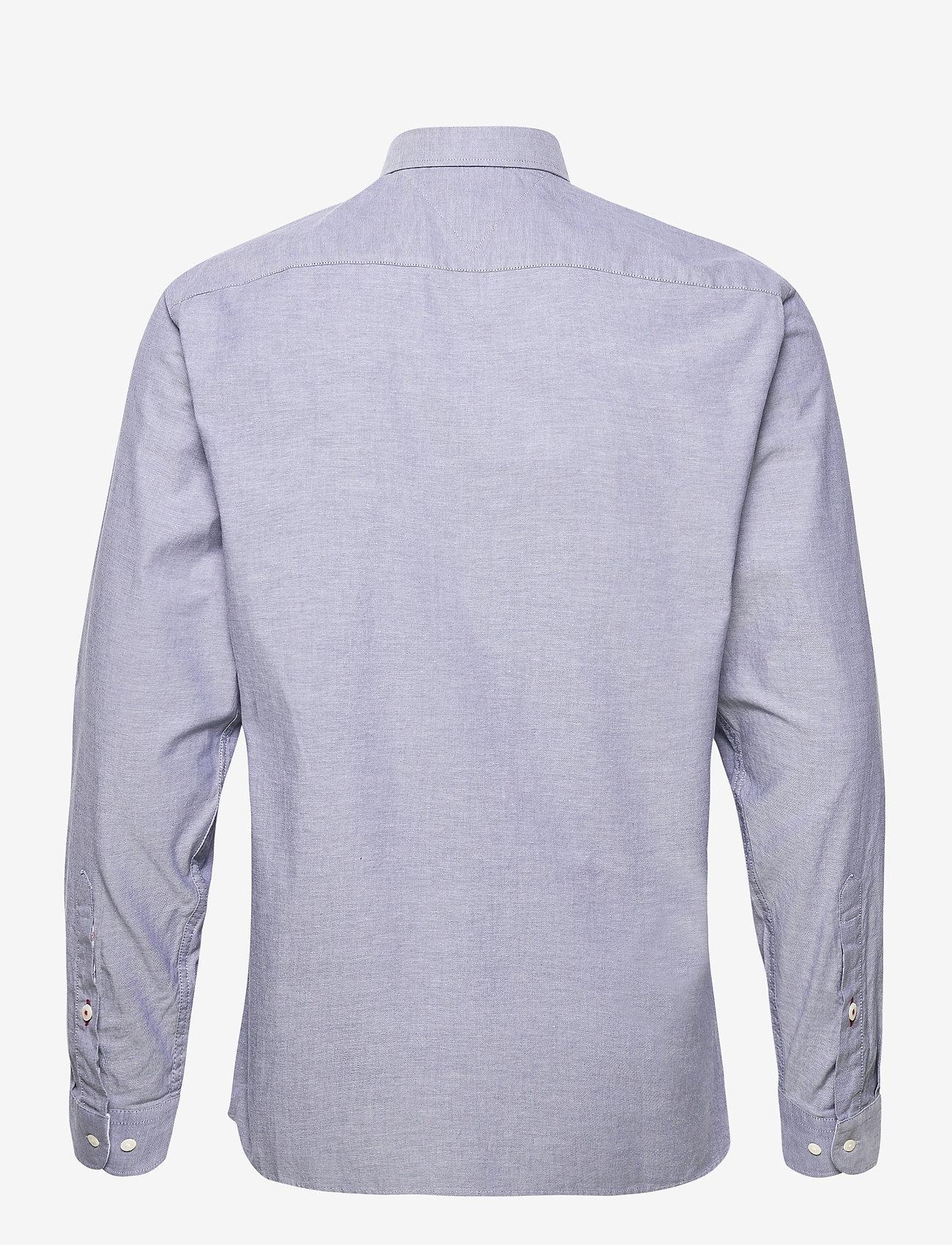 Tommy Hilfiger - FLEX REFINED OXFORD SHIRT - basic shirts - carbon navy - 1