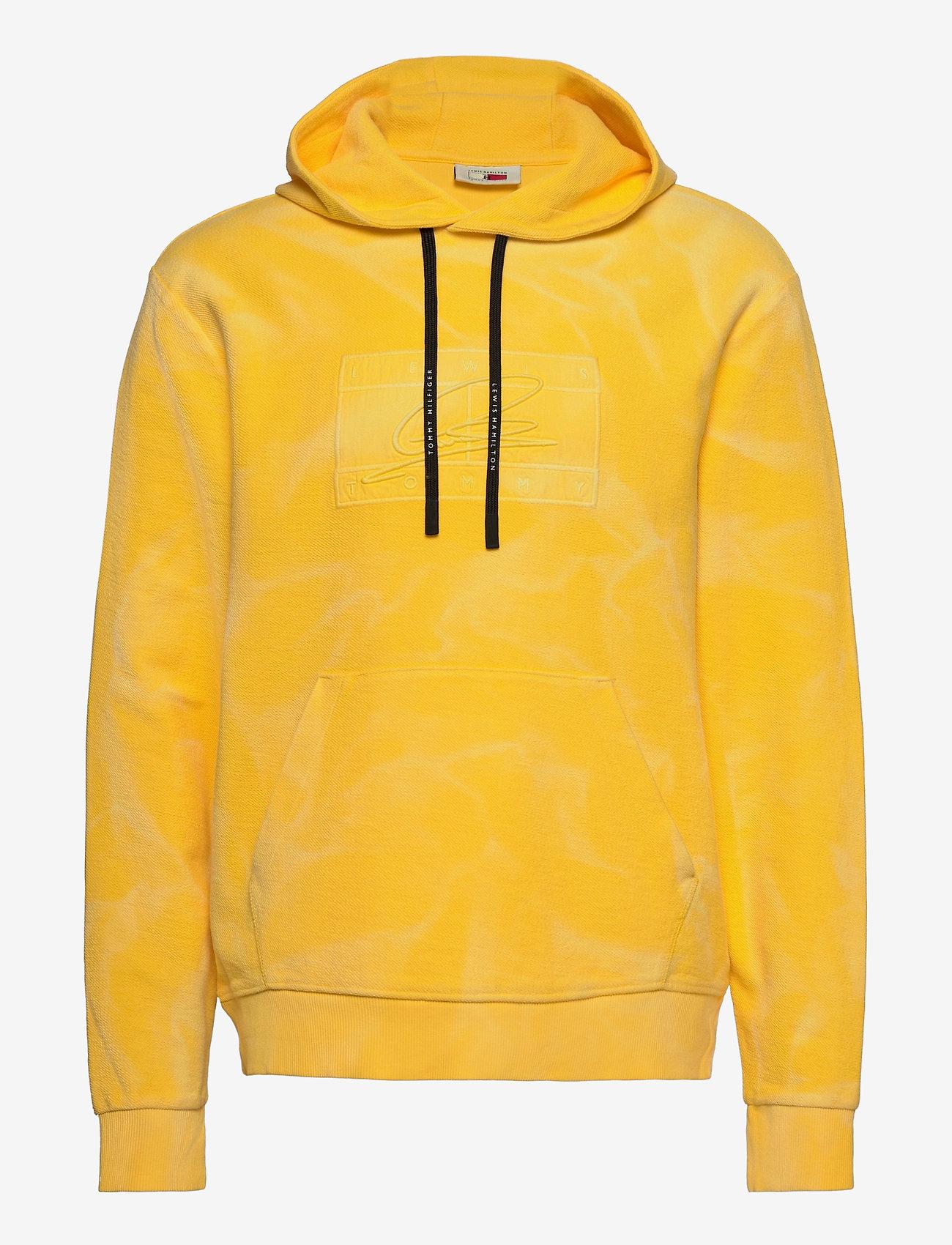 Tommy Hilfiger - LH GMD FLAG HOODY - hoodies - marigold yellow - 0