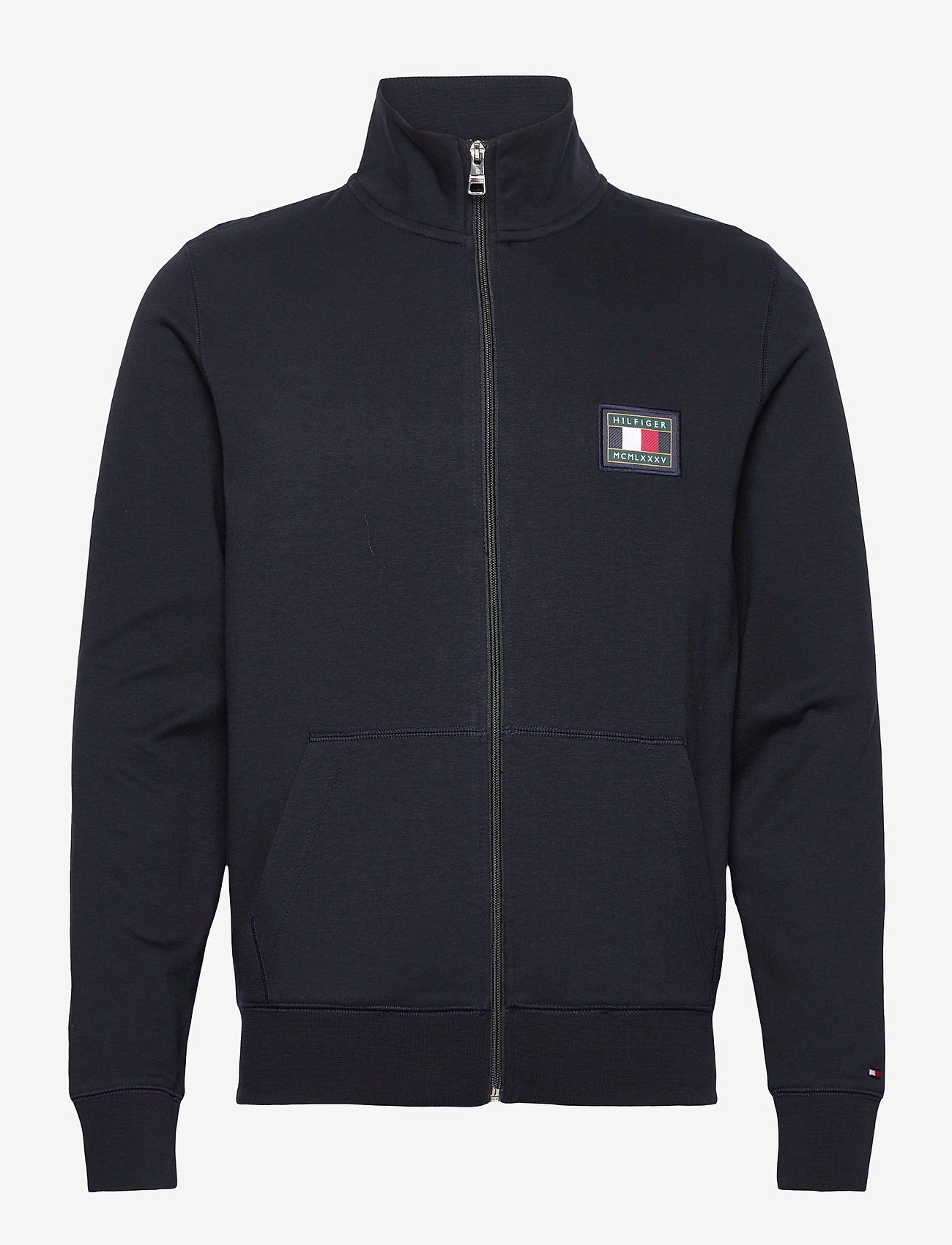 Tommy Hilfiger - ICON ESSENTIALS ZIP THROUGH - basic sweatshirts - desert sky - 0