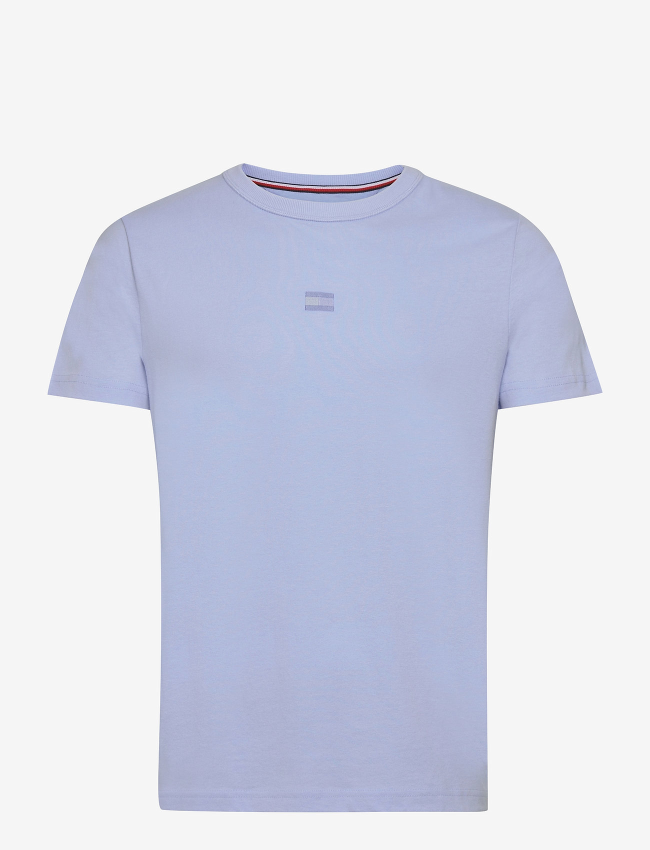 Tommy Hilfiger - RECYCLED COTTON TEE - t-shirts basiques - sweet blue - 0