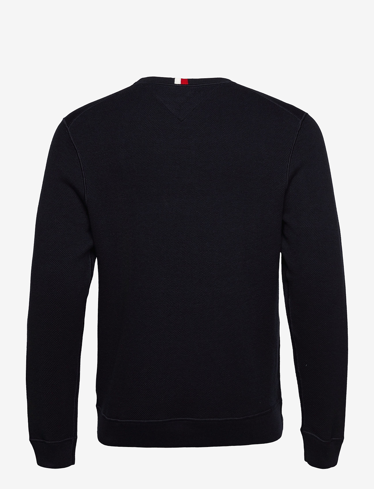 Tommy Hilfiger - STRUCTURED GRAPHIC SWEATER - desert sky - 1
