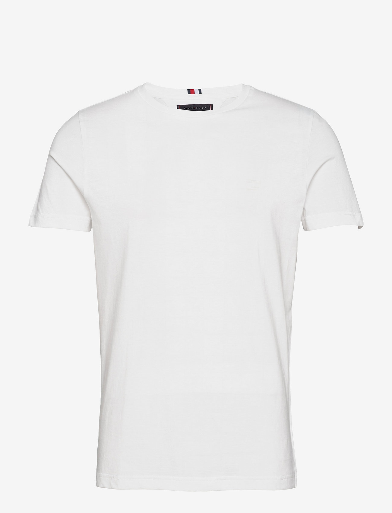 Tommy Hilfiger - TH COOL BACK LOGO TEE - t-shirts basiques - white - 0