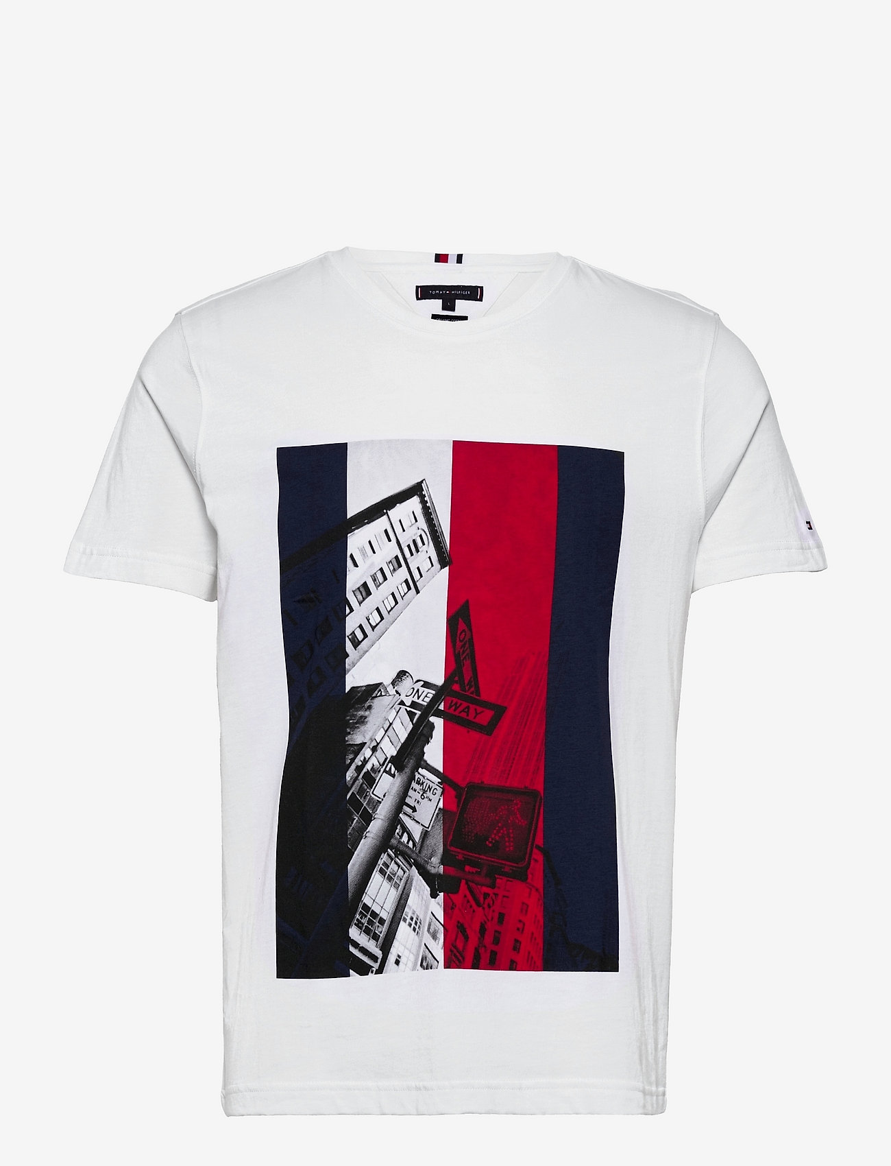Tommy Hilfiger - WCC PHOTOPRINT TEE - t-shirts à manches courtes - white - 0