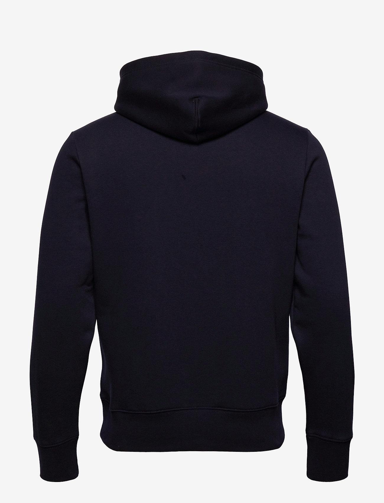 Tommy Hilfiger - SPLIT CORP STRIPE HOODY - hoodies - desert sky - 1