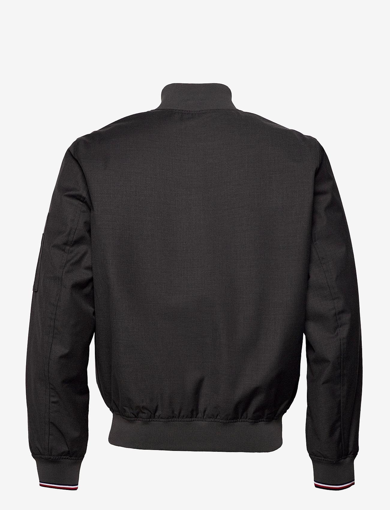 Tommy Hilfiger - 2 MB TECH BOMBER JKT - bomber jackets - dark grey heather - 1