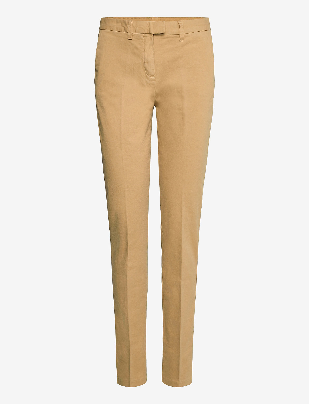 Tommy Hilfiger - HERITAGE SLIM FIT CHINO - chinos - classic camel - 0