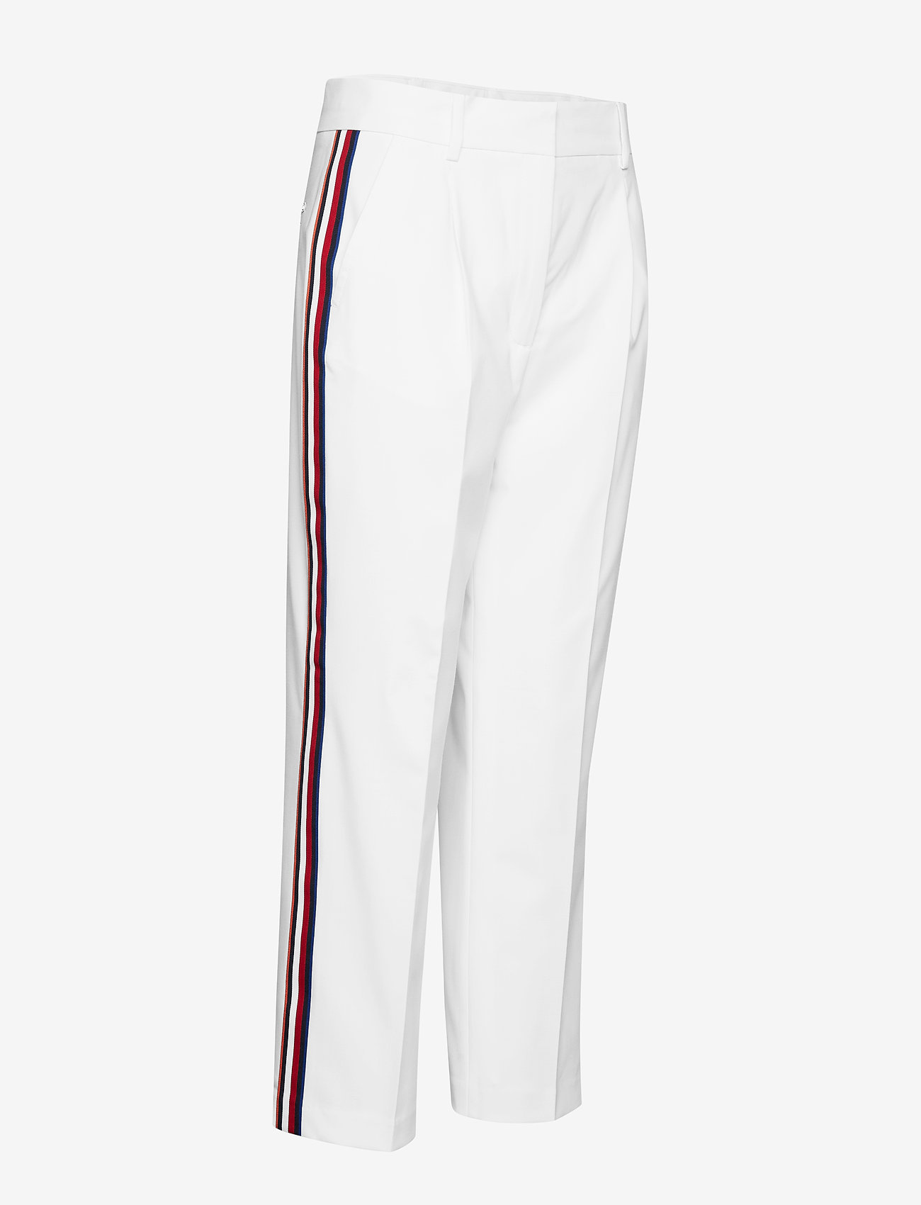 Tommy Hilfiger Petra Hw Pleated Ank - Byxor Classic White