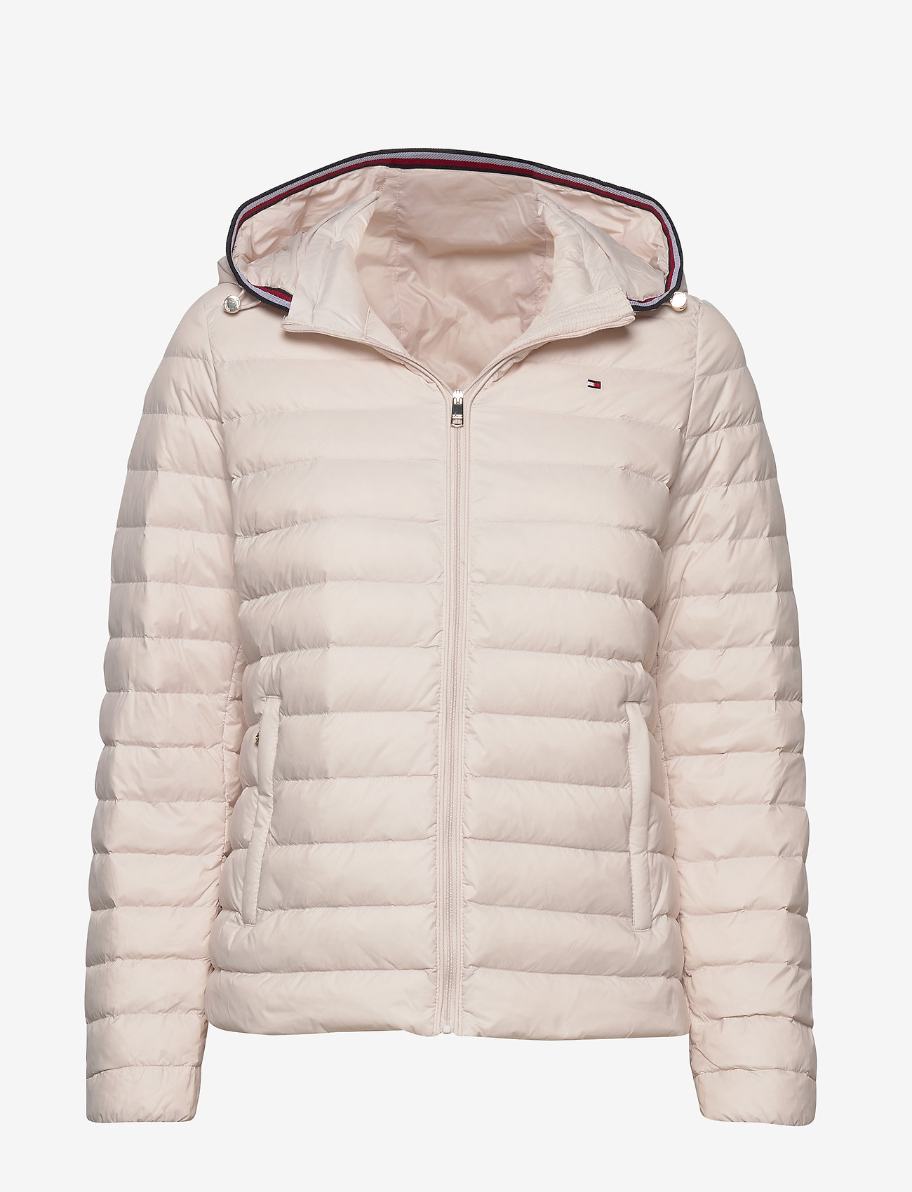 Tommy Hilfiger - TH ESSENTIAL LW DWN - down- & padded jackets - vintage white - 0