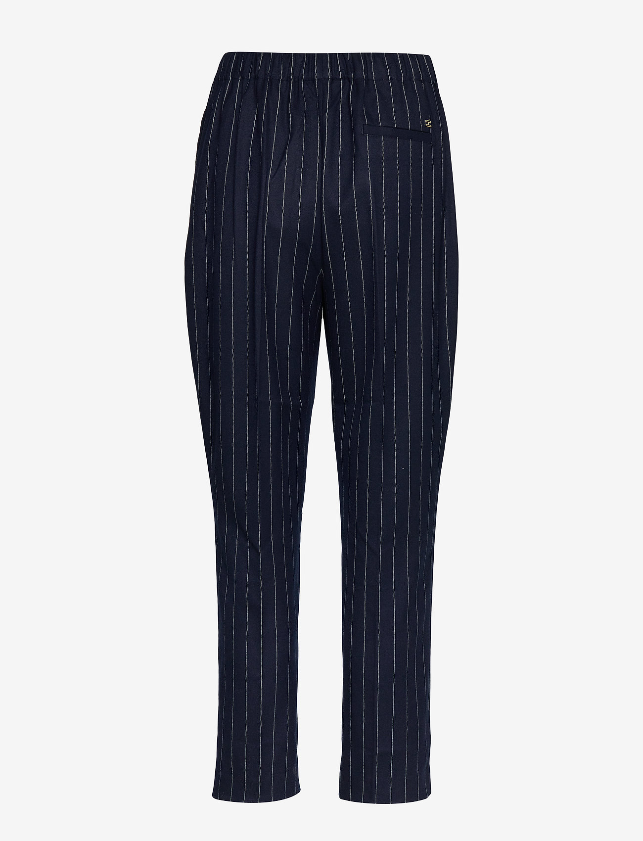 Tommy Hilfiger - FRANKIE PULL ON PANT - straight leg trousers - pin stripe sky captain - 1