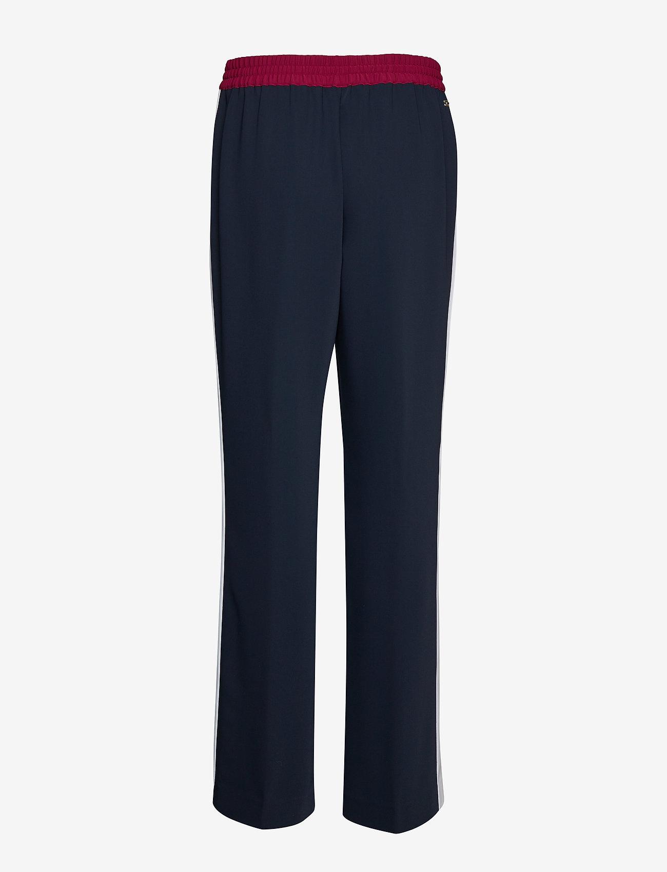 Tommy Hilfiger - FLORENTINA PANT - wide leg trousers - sky captain - 1