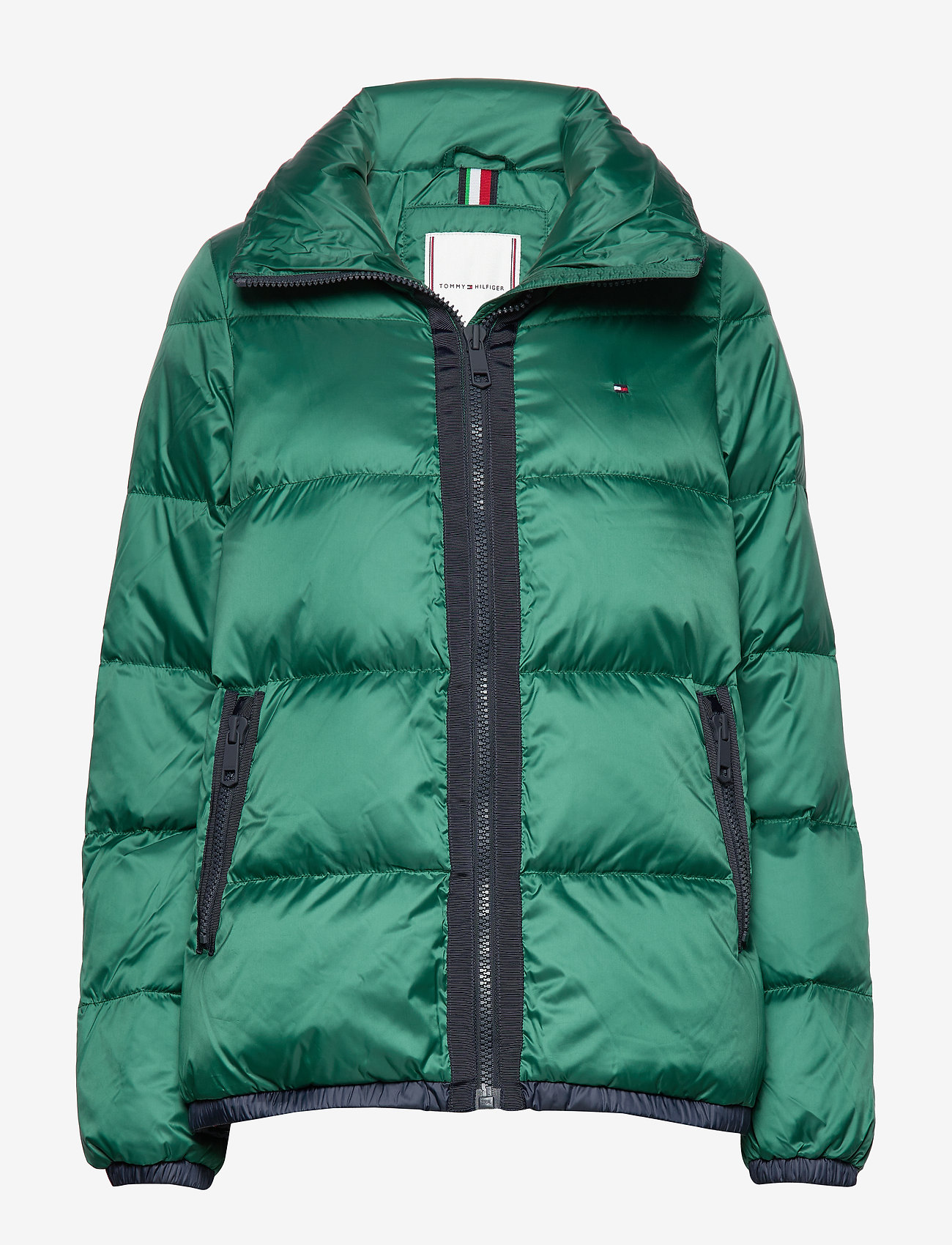 Tommy Hilfiger - NAOMI RECYCLED DOWN JKT - padded jackets - rain forest - 0