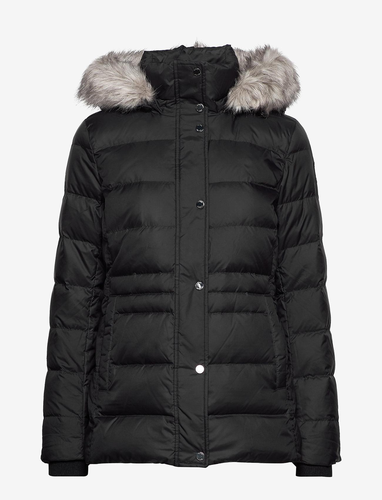 Tommy Hilfiger - NEW TYRA DOWN JKT - padded jackets - meteorite - 1