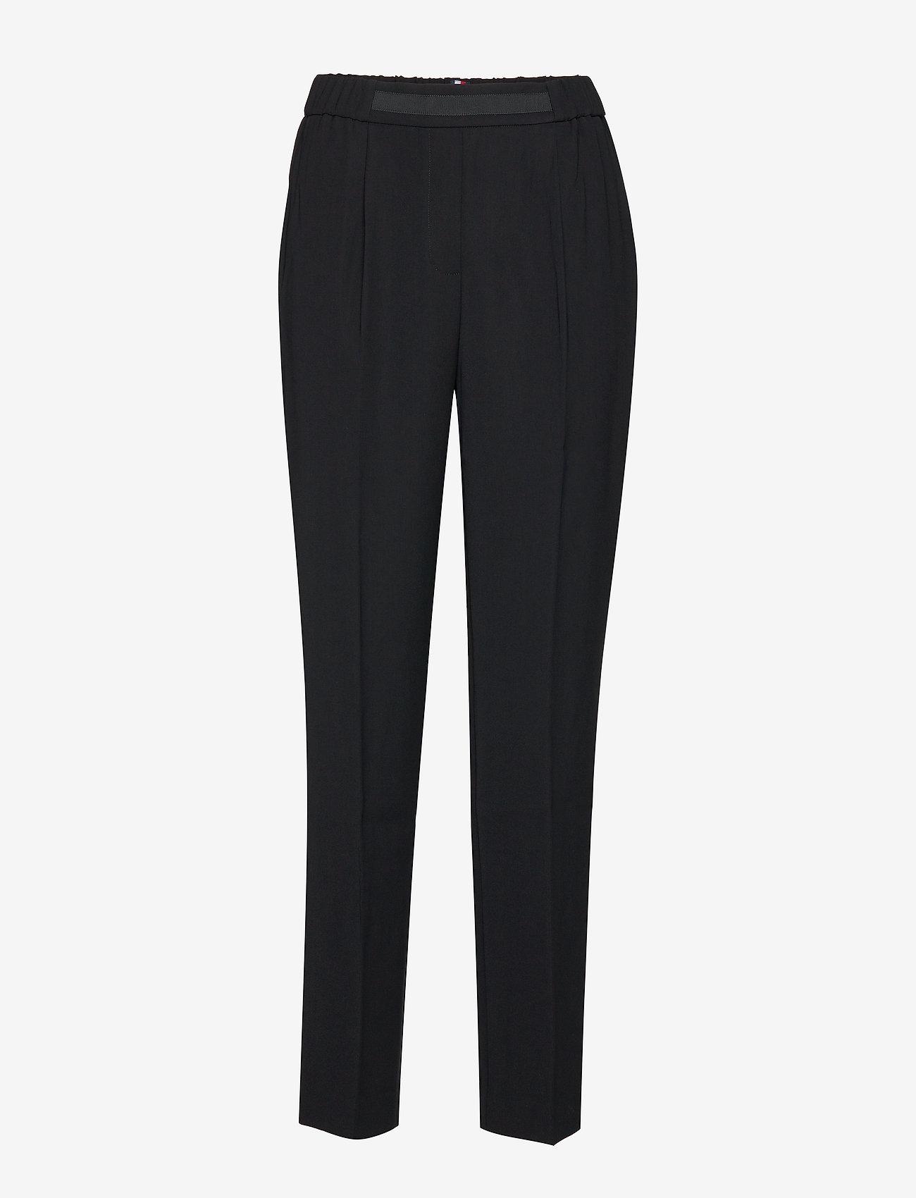 Tommy Hilfiger - FARAH PULL ON PANT - straight leg trousers - meteorite - 0