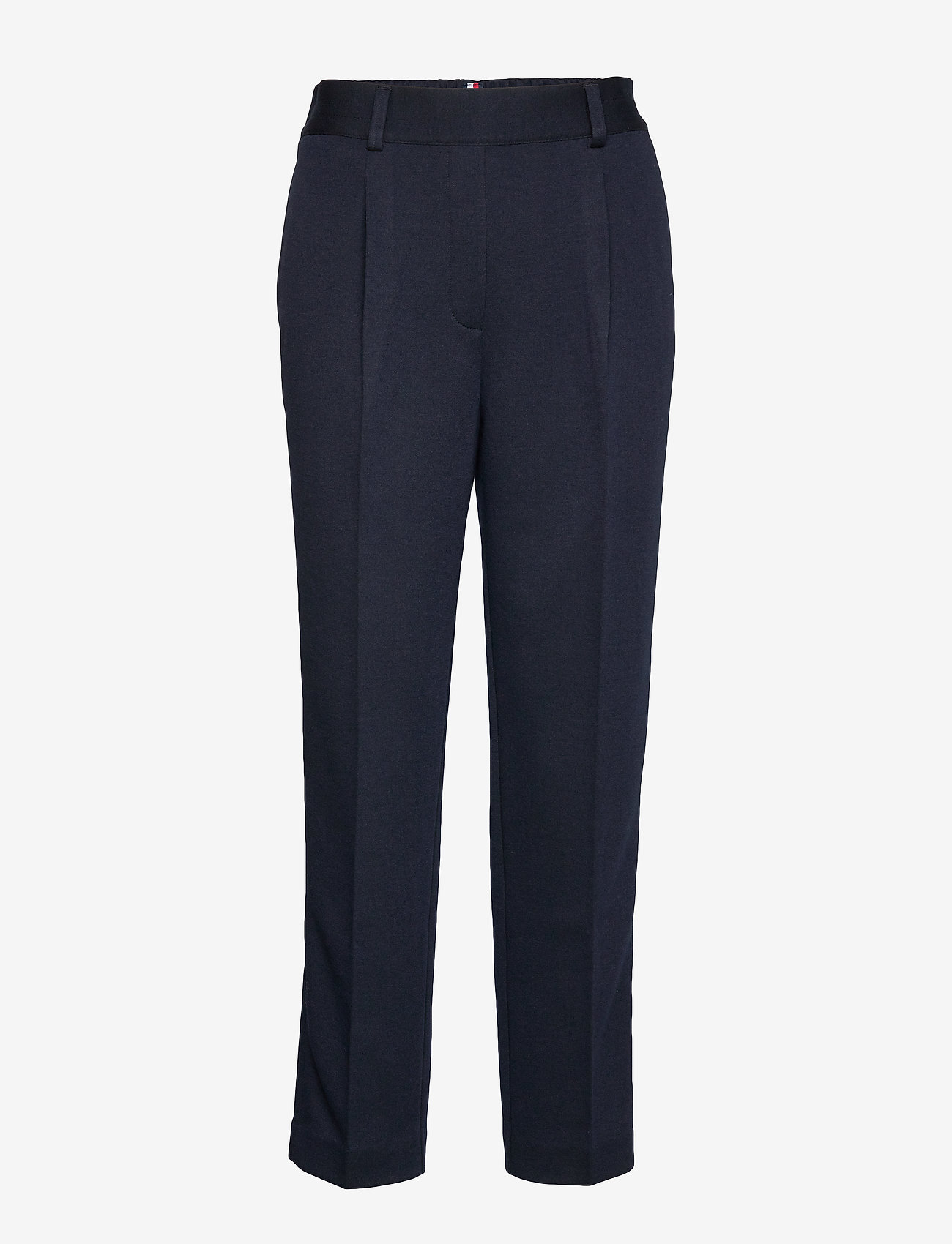 Tommy Hilfiger - TH ESSENTIAL JERSEY PANT - straight leg trousers - desert sky - 0