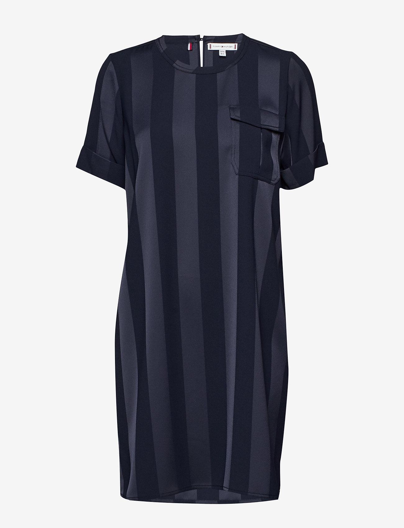 Tommy Hilfiger - FIFI DRESS SS - midi dresses - desert sky - 0