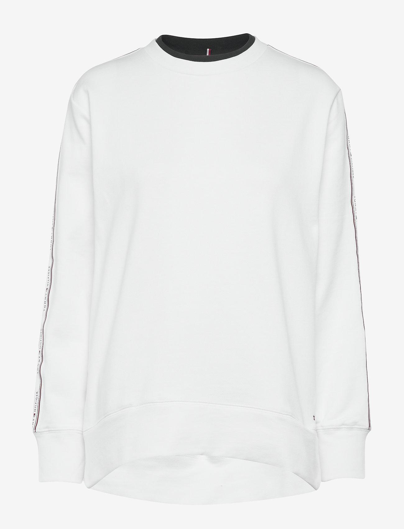 Tommy Hilfiger - RAVEN C-NK SWEATSHIRT LS - sweatshirts - white - 0