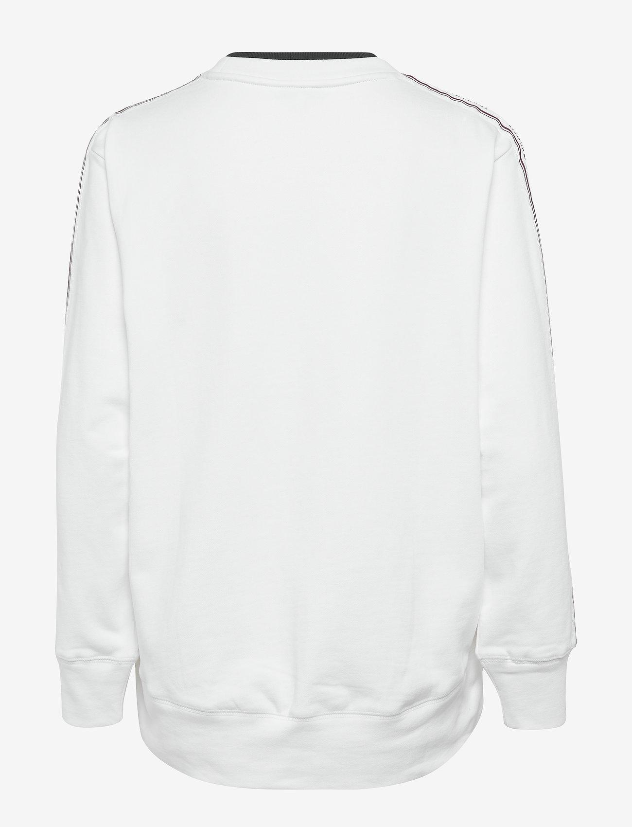 Tommy Hilfiger - RAVEN C-NK SWEATSHIRT LS - sweatshirts - white - 1