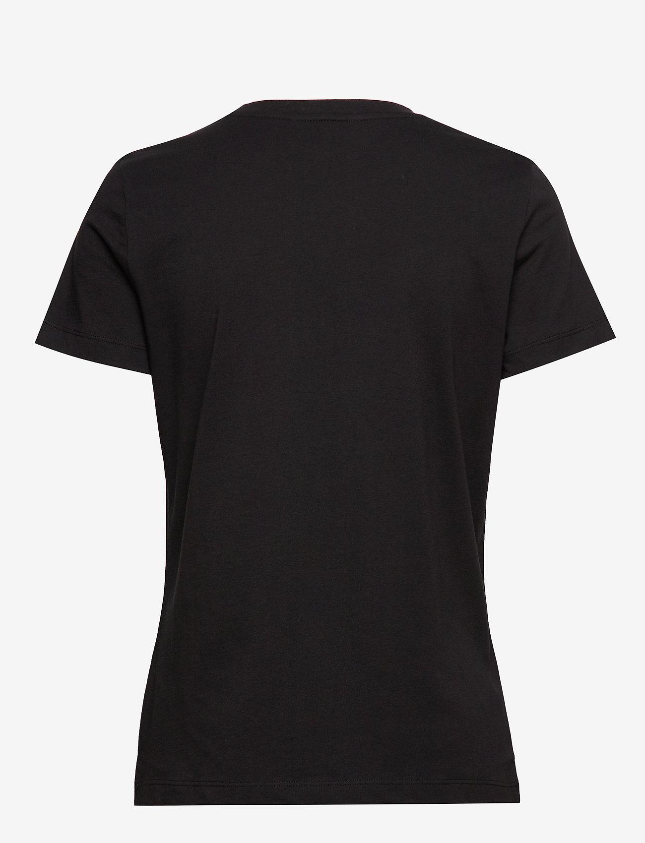 Tommy Hilfiger - NEW TH ESS HILFIGER - logo t-shirts - black