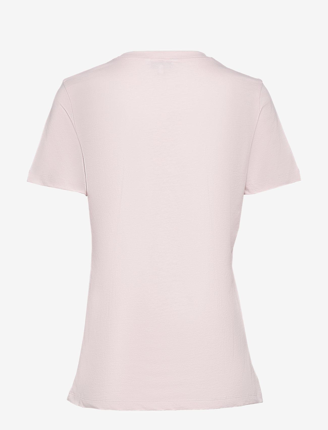Tommy Hilfiger - NEW TH ESS HILFIGER - logo t-shirts - pale pink