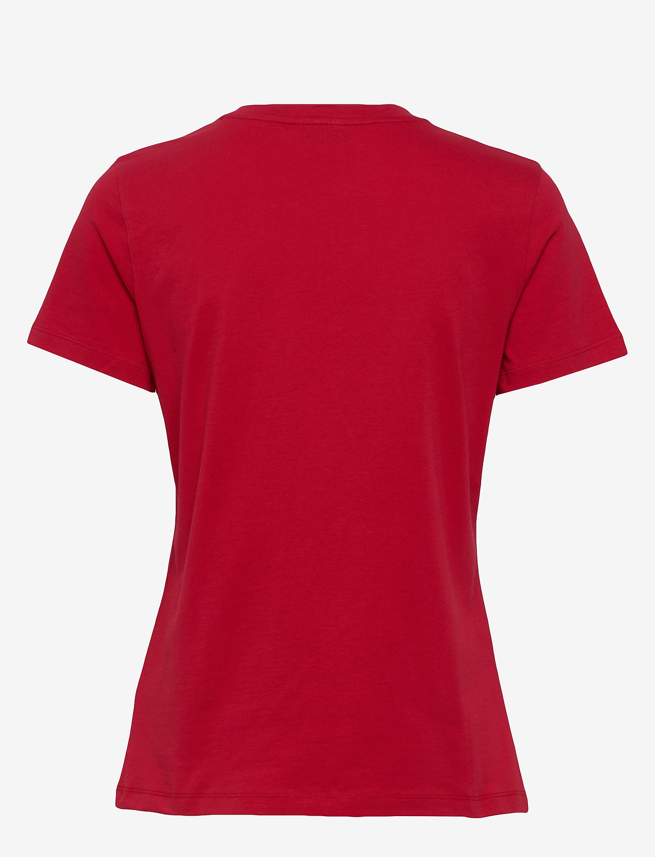 Tommy Hilfiger - NEW TH ESS HILFIGER - logo t-shirts - primary red