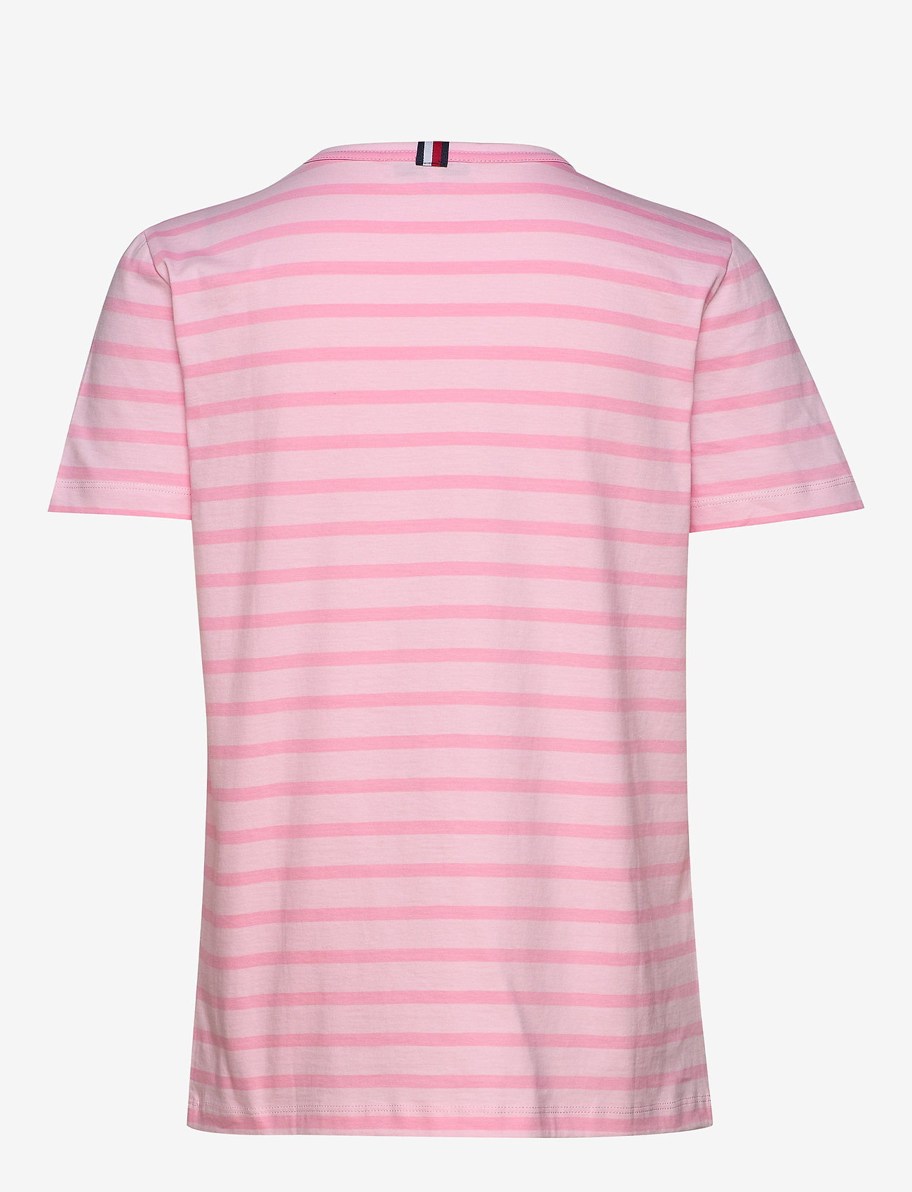 Tommy Hilfiger - TH COOL ESS RELAXED - t-shirts - breton stp /  frosted pink