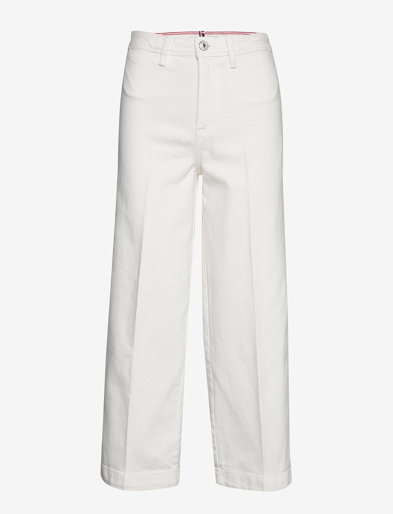 Tommy Hilfiger - BELL BOTTOM HW C CLR - uitlopende jeans - ivory - 0