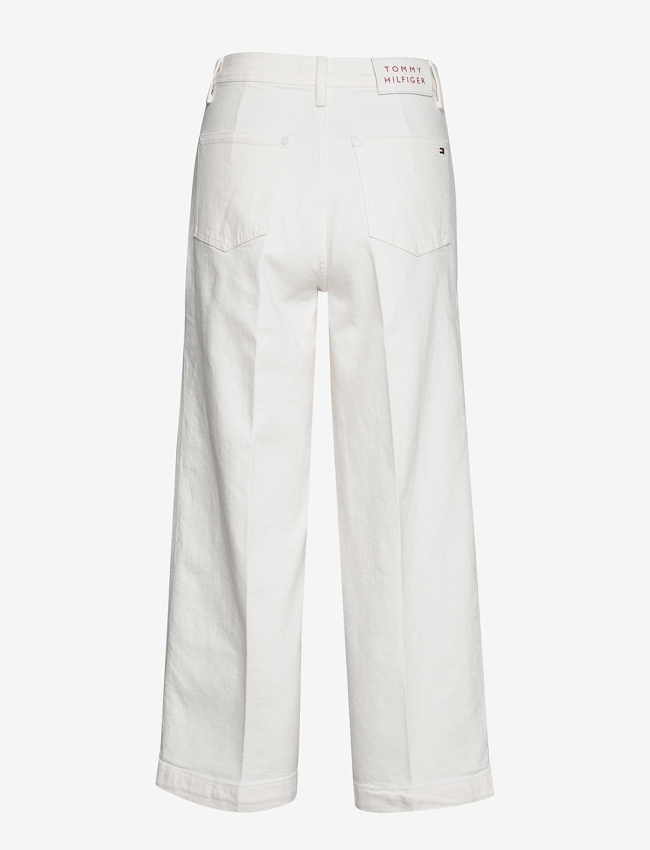 Tommy Hilfiger - BELL BOTTOM HW C CLR - uitlopende jeans - ivory - 1
