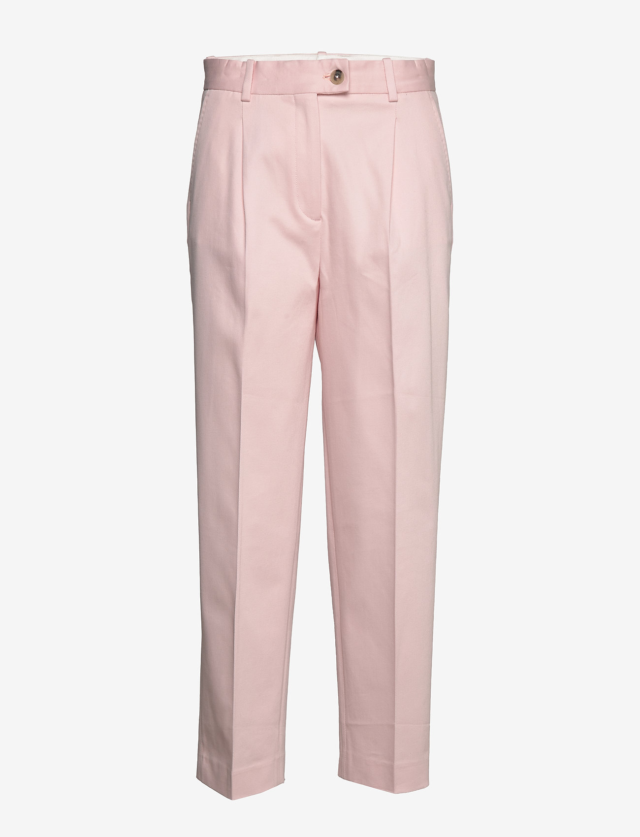 Tommy Hilfiger - COTTON PASTEL TAPERED PANT - straight leg trousers - pale pink - 0