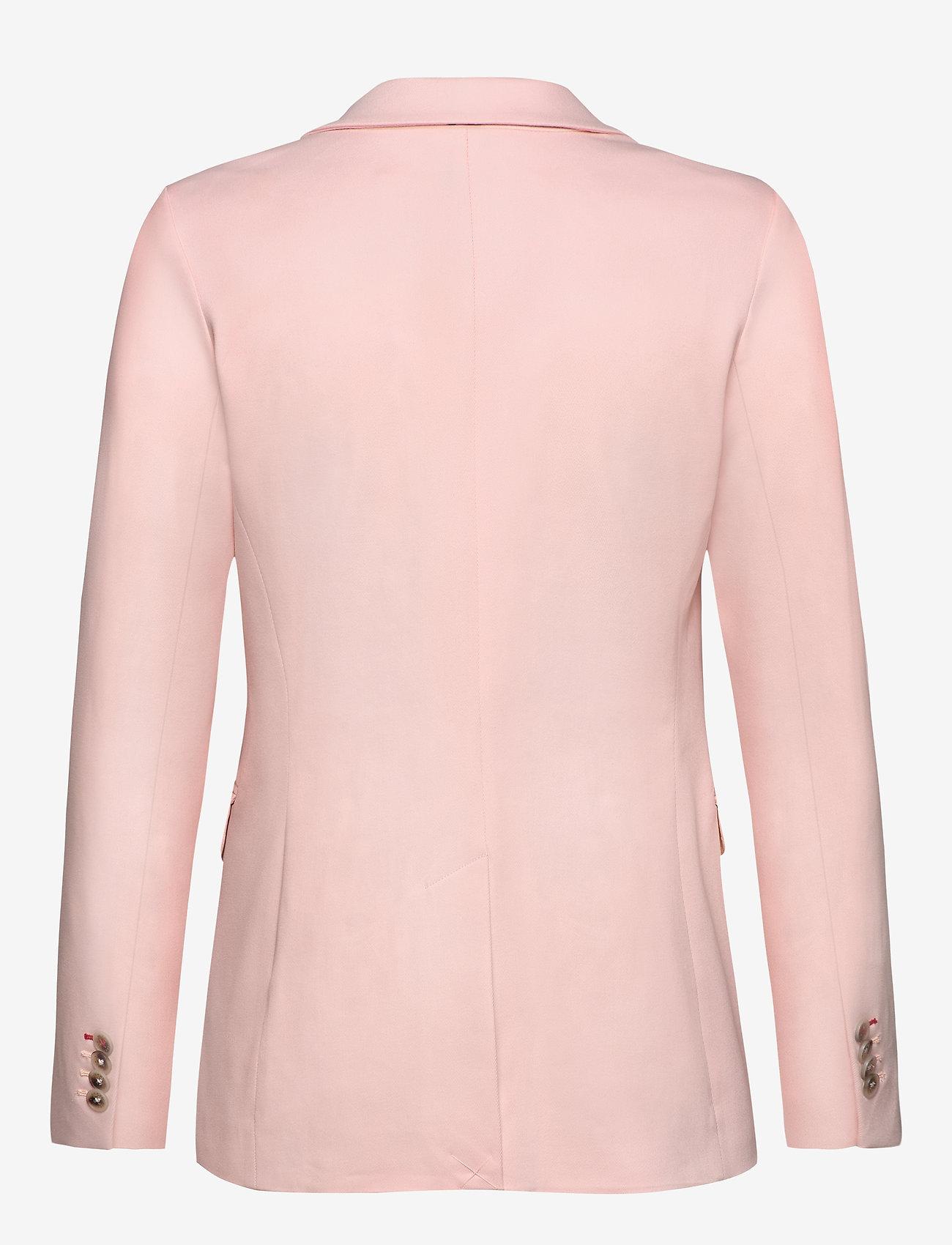 Tommy Hilfiger - COTTON PASTEL SB BLA - blazers - pale pink