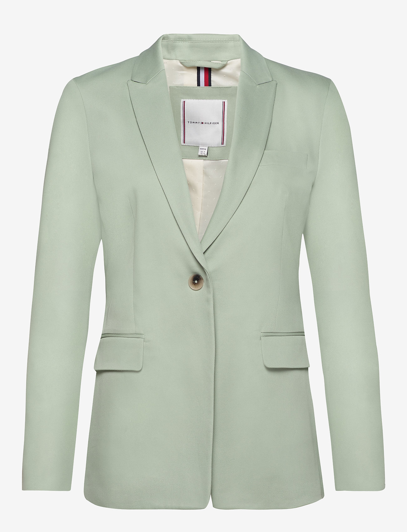 Tommy Hilfiger - COTTON PASTEL SB BLA - blazers - sea mist mint - 1