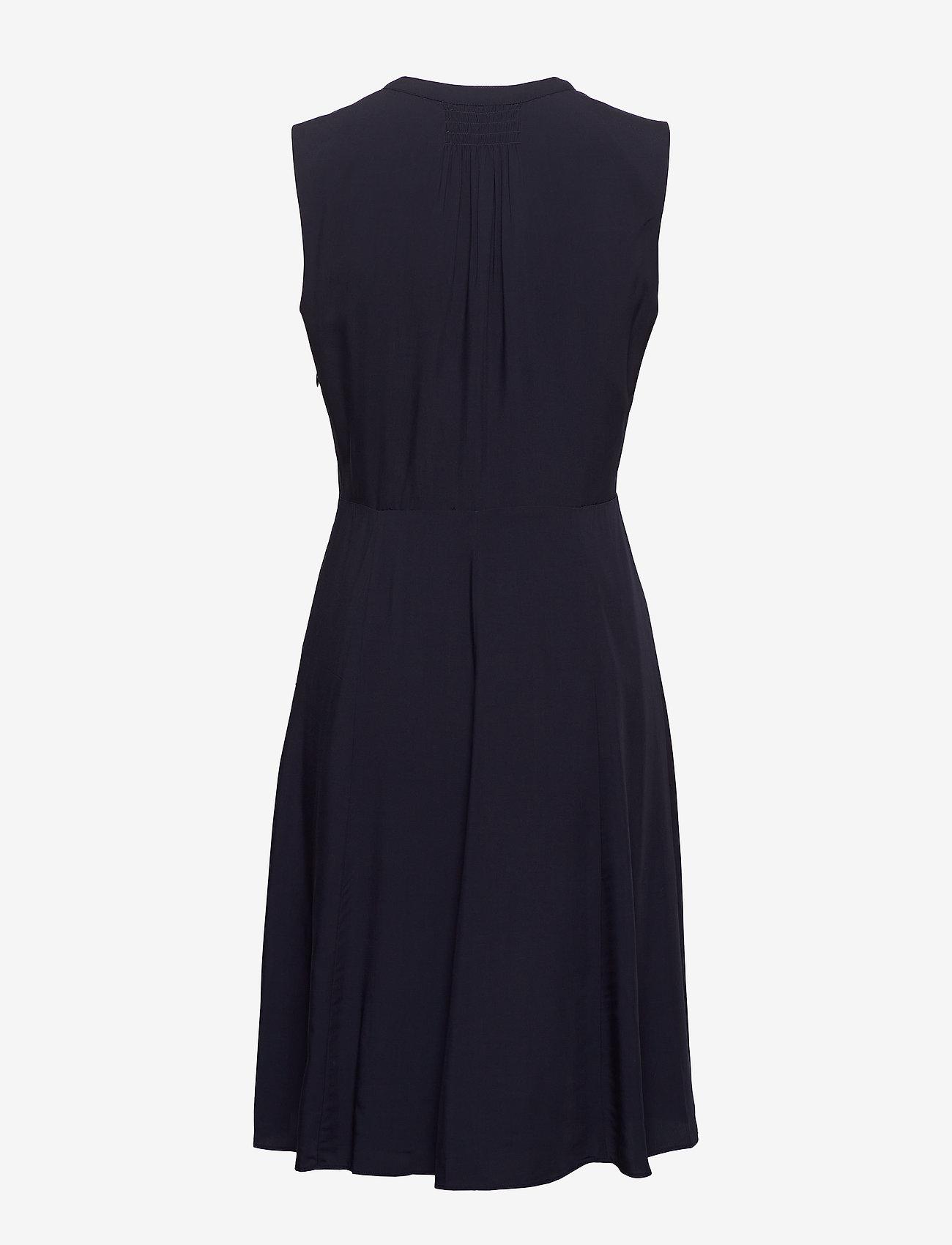Tommy Hilfiger - DANEE DRESS SS - midi kjoler - desert sky