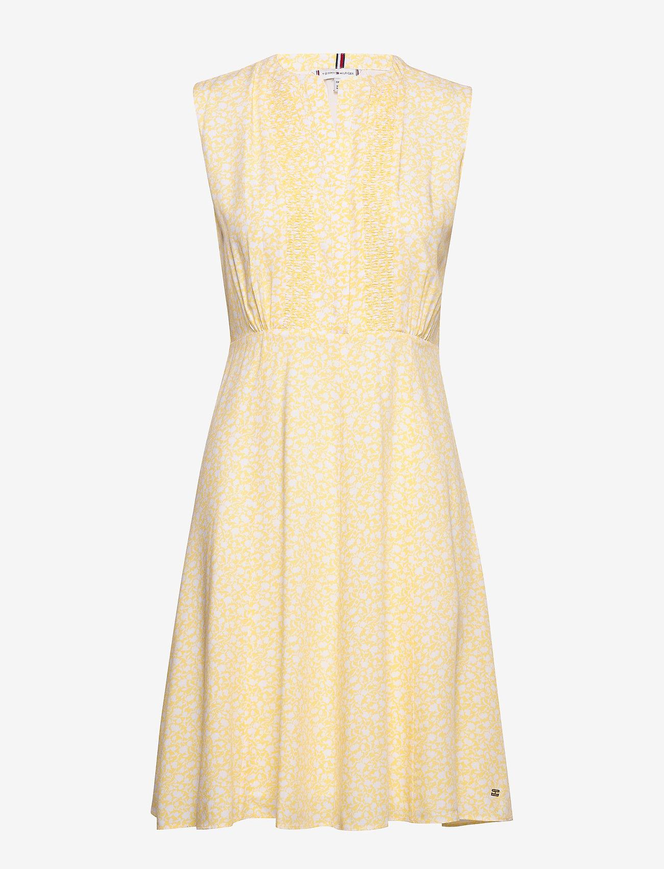 Tommy Hilfiger - DANEE DRESS SS - midi dresses - posy prt / sunray