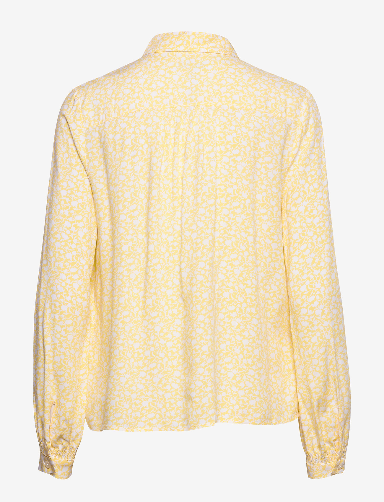 Tommy Hilfiger - DANEE HALF PLACKET BLOUSE LS - long sleeved blouses - posy prt / sunray