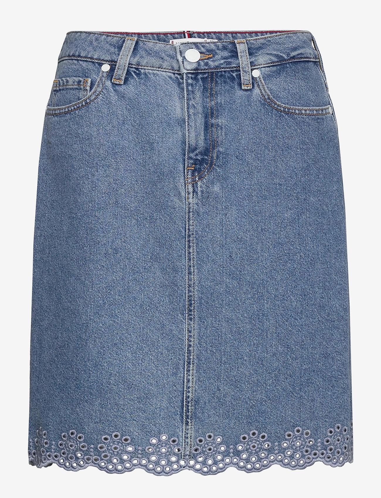 Tommy Hilfiger - ROME STRAIGHT HW SKIRT PATTY - jupes en jeans - patty - 0
