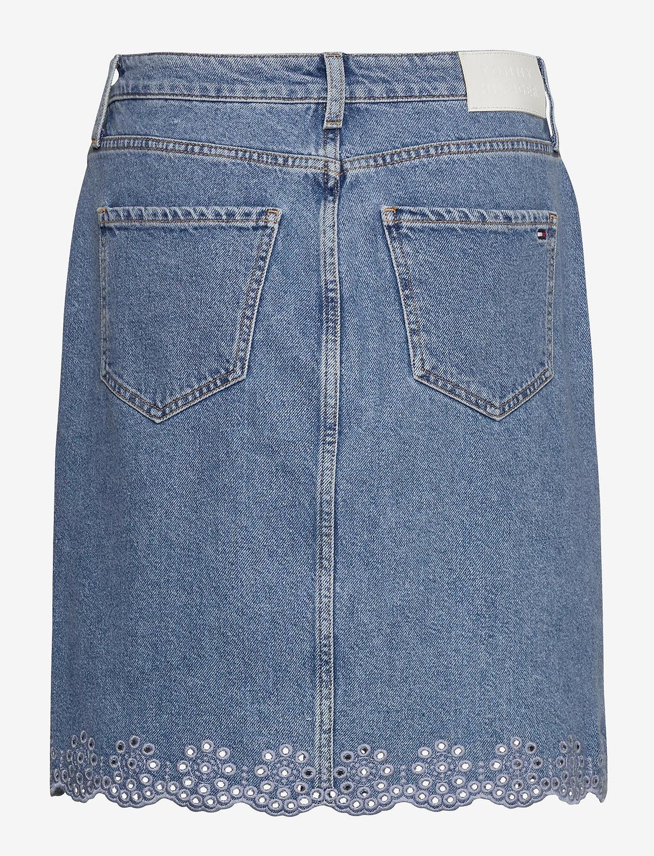 Tommy Hilfiger - ROME STRAIGHT HW SKIRT PATTY - jupes en jeans - patty - 1
