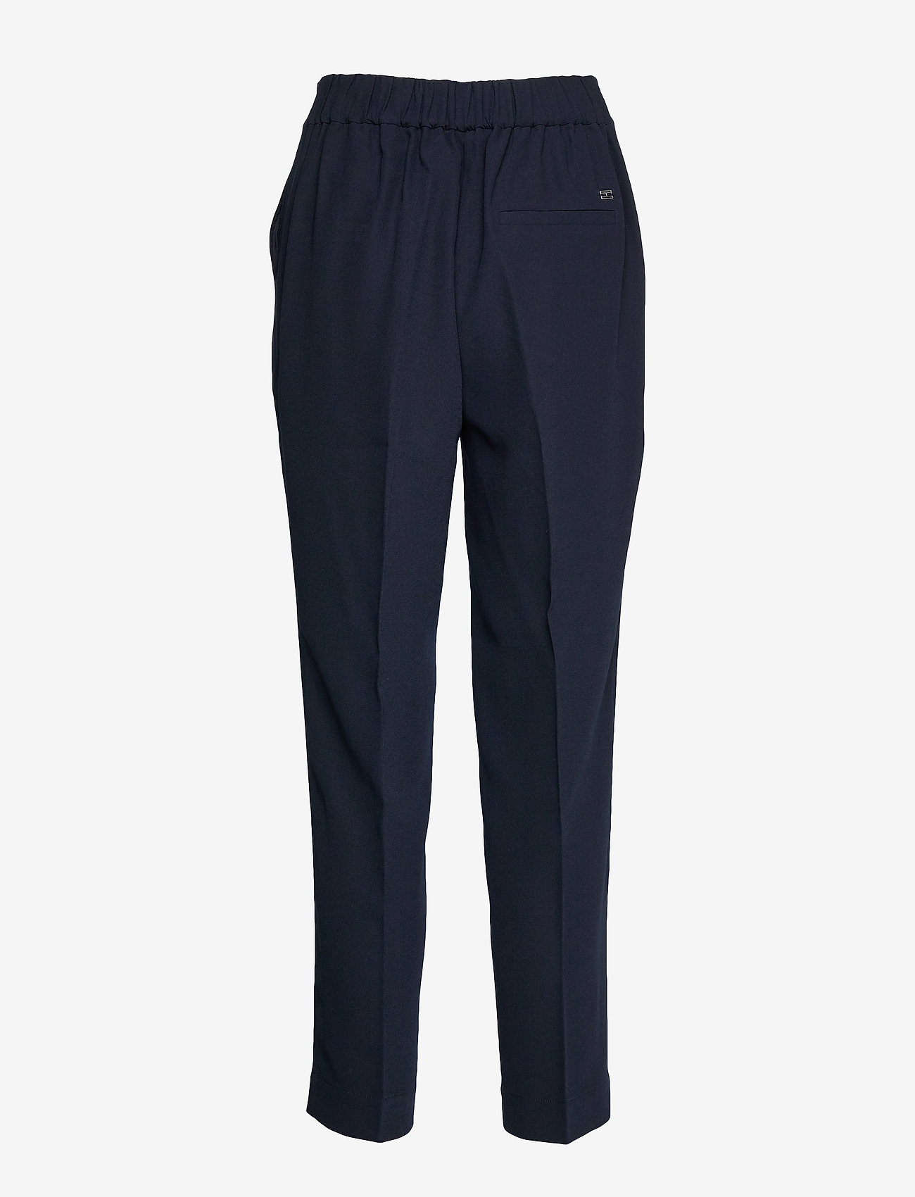 Tommy Hilfiger - TH ESS POLY TWILL TA - straight leg trousers - desert sky - 1