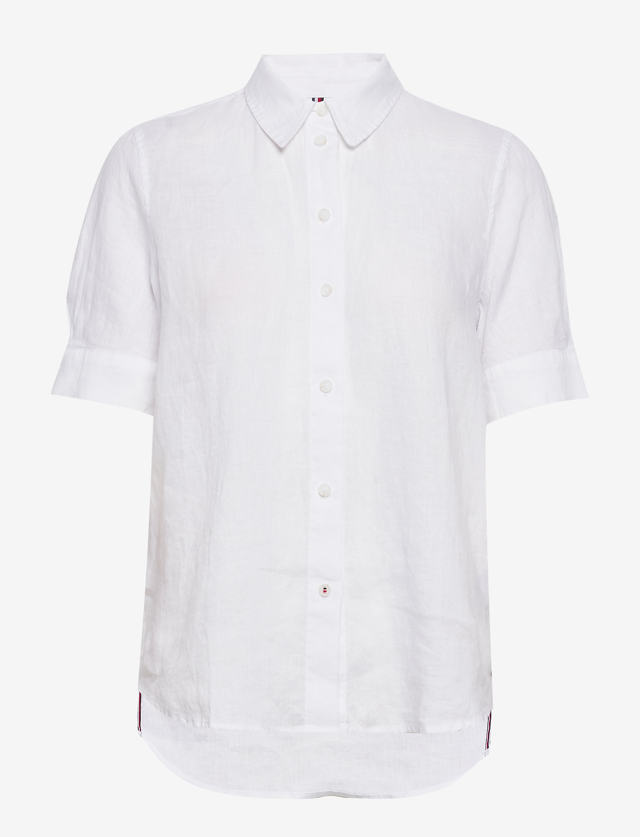 Tommy Hilfiger - TH ESSENTIAL PENELOP - overhemden met korte mouwen - white - 0