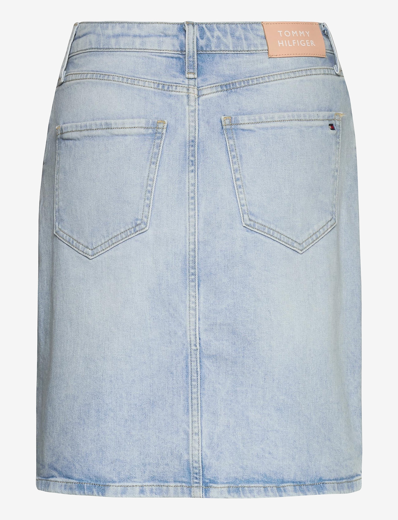 Tommy Hilfiger - ROME STRAIGHT HW SKIRT LOTA - jupes en jeans - lota - 1