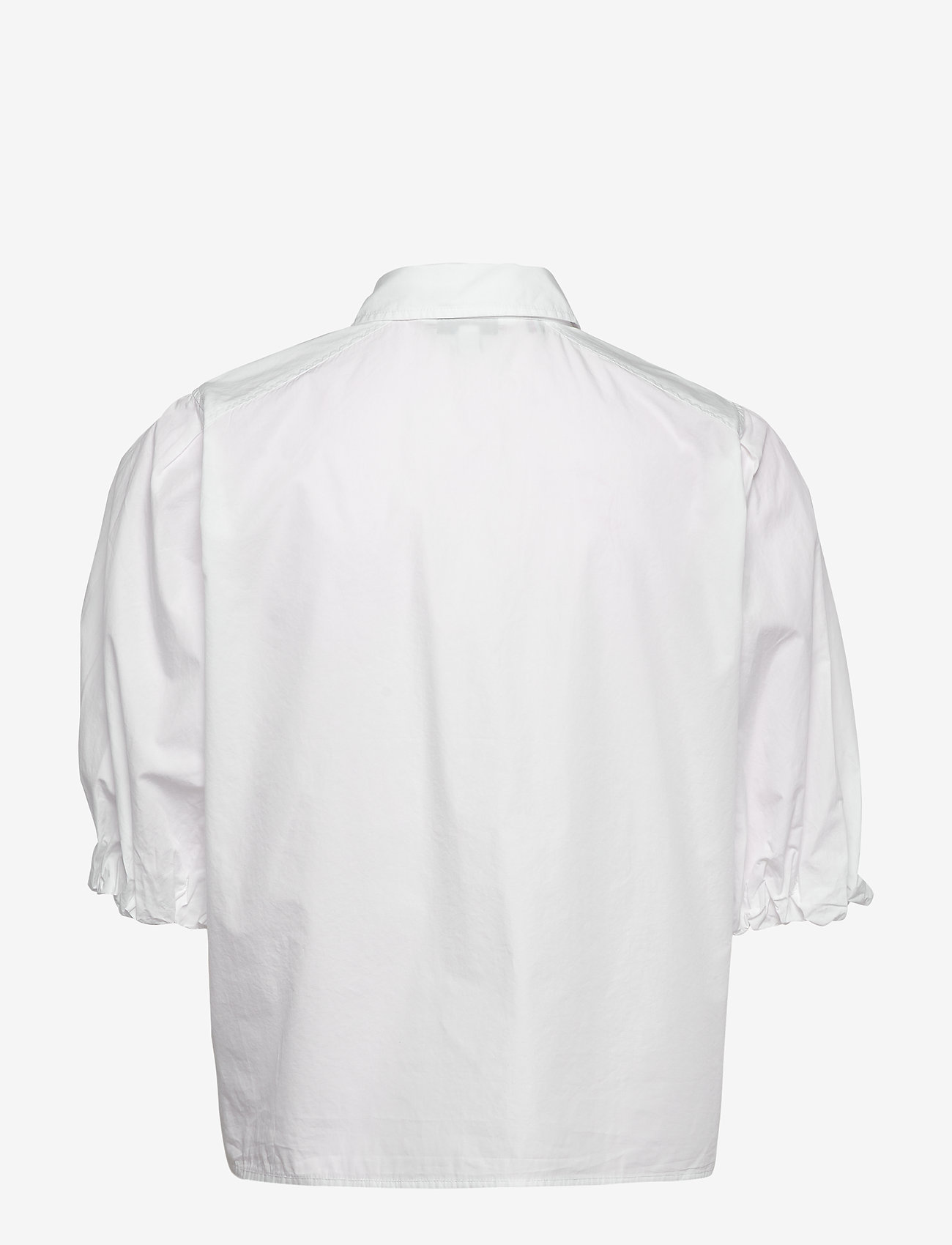 Tommy Hilfiger - SANNI SHIRT SS - overhemden met korte mouwen - th optic white - 1