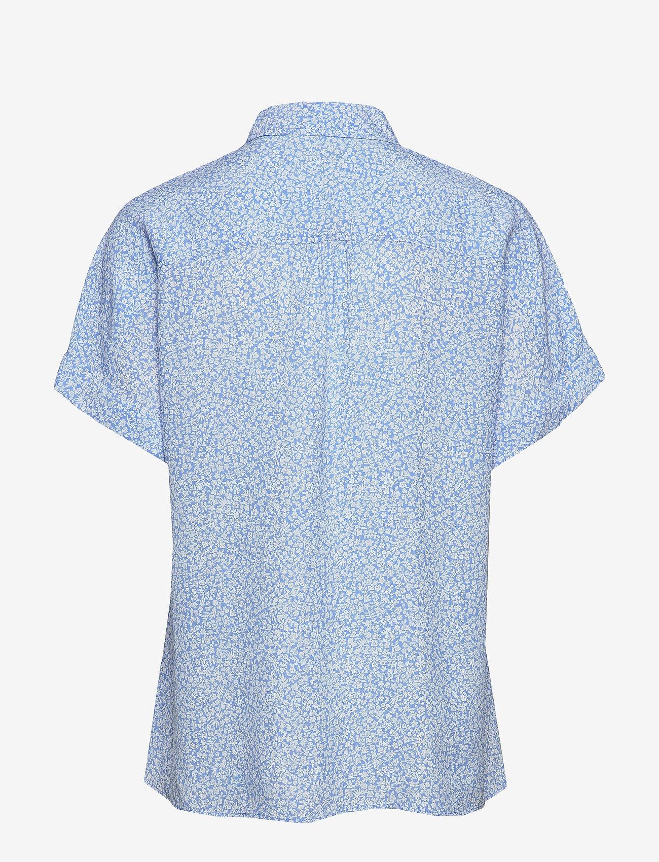 Tommy Hilfiger - RAELIN SHIRT SS - overhemden met korte mouwen - ditsy floral light iris blue - 1