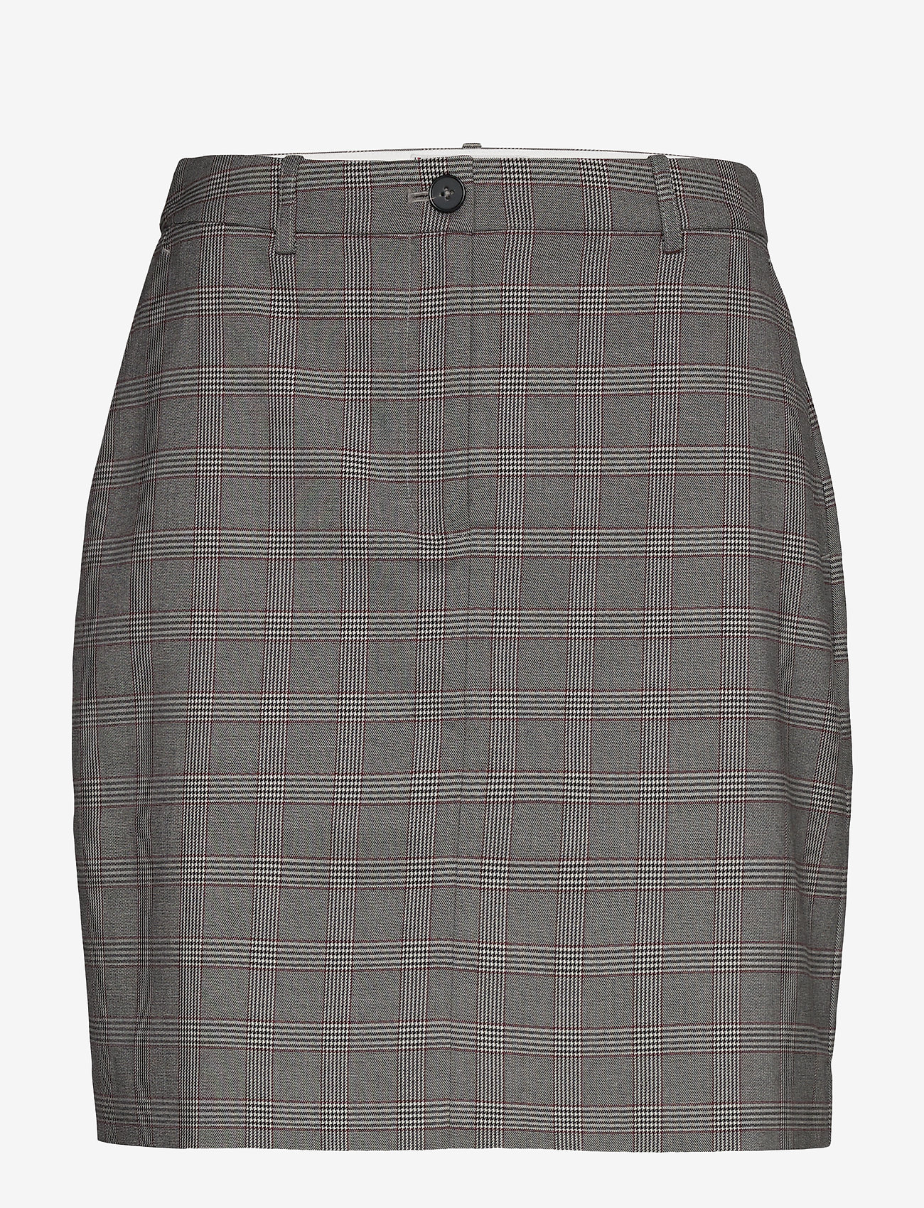 Tommy Hilfiger - Y/D POW CHECK MINI SKIRT - jupes courtes - cw check black small scale - 0