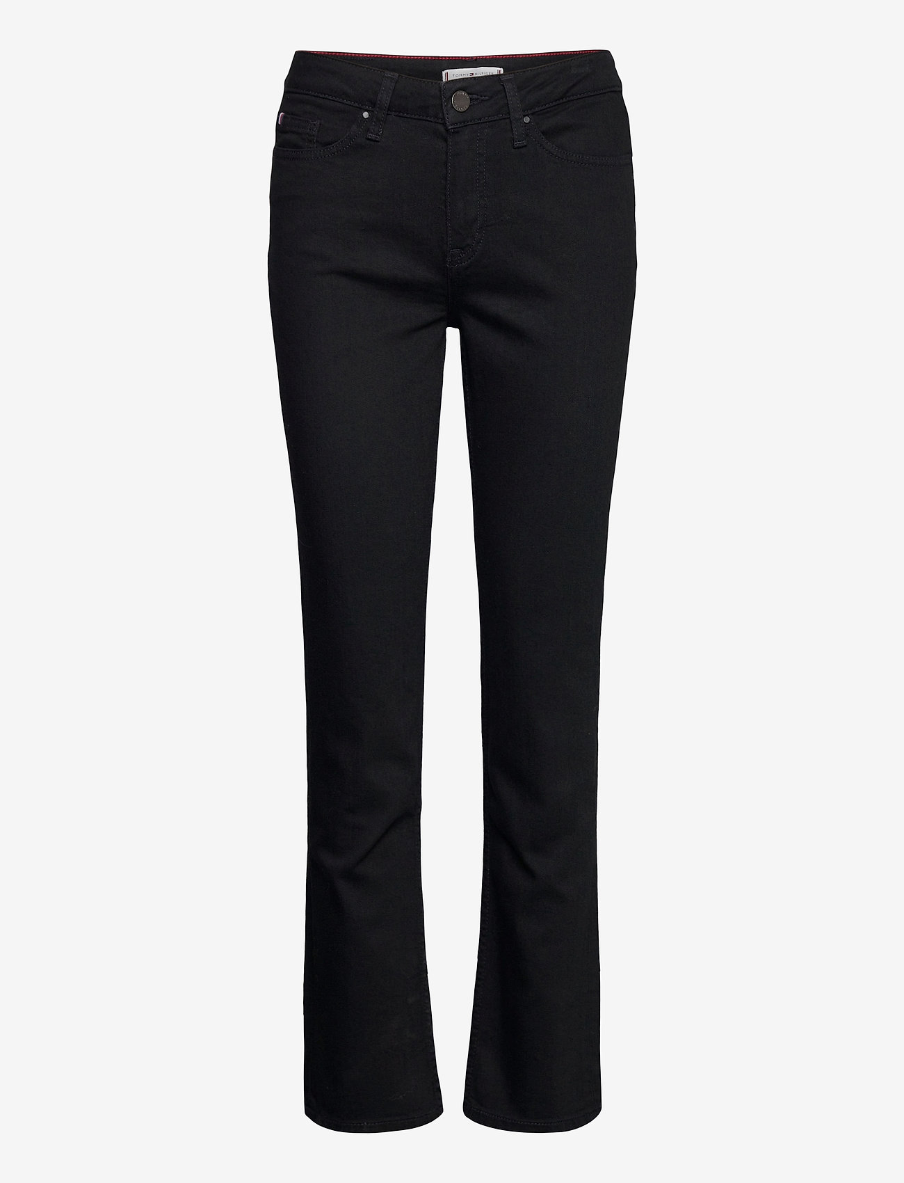 Tommy Hilfiger - ROME STRAIGHT RW BLACK - boot cut jeans - black - 0