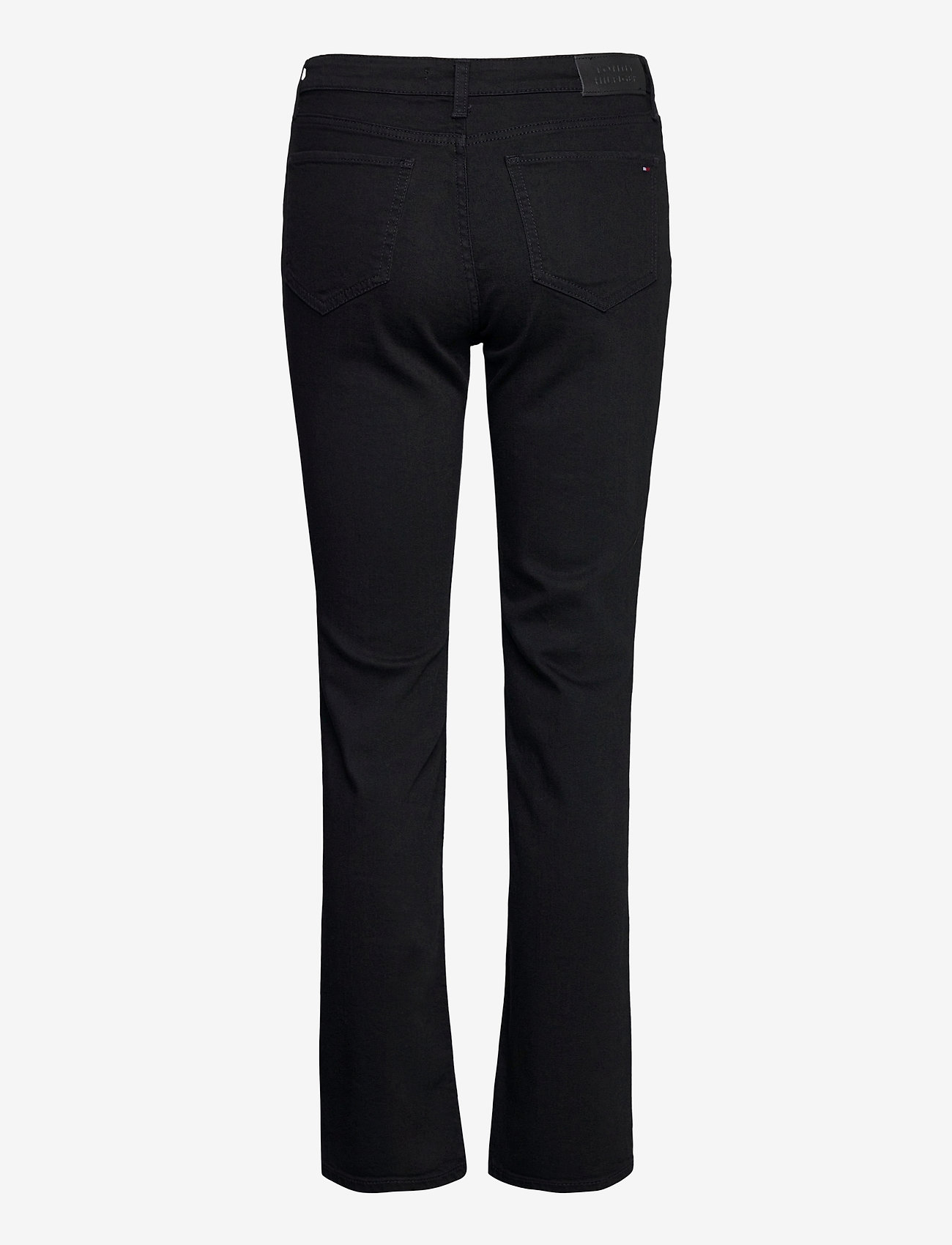 Tommy Hilfiger - ROME STRAIGHT RW BLACK - boot cut jeans - black - 1